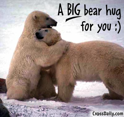 big bear hug to you